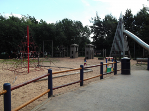 outdoor space at Highfield Adventure Playground