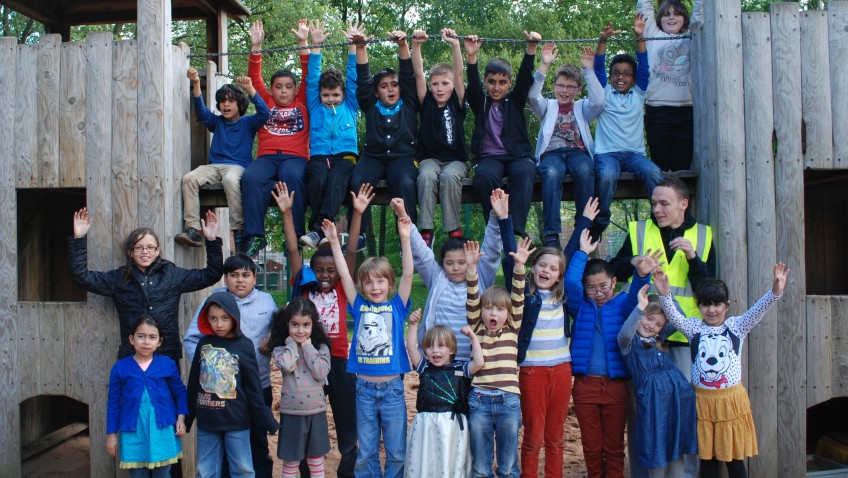 Highfield Adventure Playground celebrate £10,000 grant!