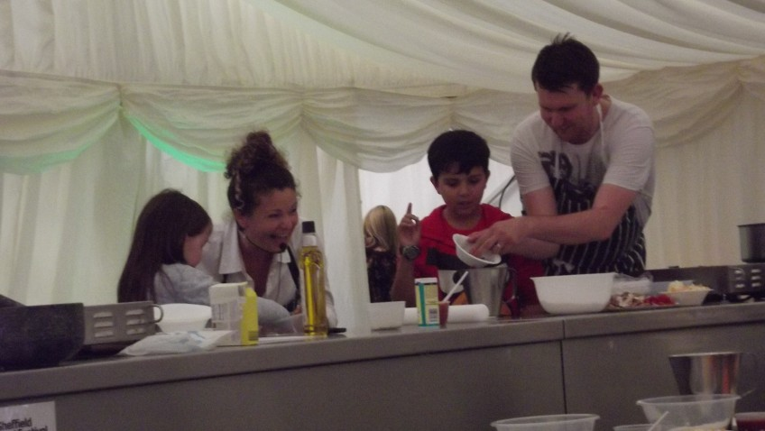 ShipShape Cooking Session for Children at Sheffield Food Festival
