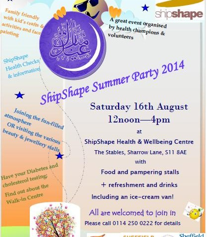 ShipShape Summer Party open to all