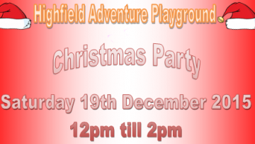 HAP Christmas Opening Times Flyer